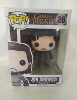 Funko Pop Vinyl Figure Xmas Gift Jon Snow 26 GOT Game Of Thrones