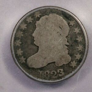 1823/2-P 1823/2 Capped Bust Dime Small E's 10C ICG AG3