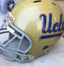 Used Riddell Men's Football Helmet Large Gold UCLA