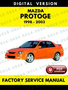 Repair Manuals Literature For Mazda Protege For Sale Ebay
