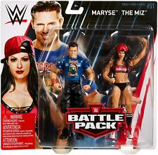 WWE Wrestling Series 51 The Miz & Maryse Action Figure 2-Pack