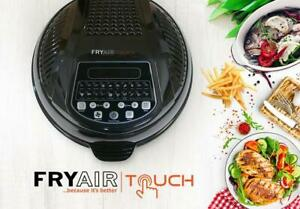 Ex Demo USED FryAir Touch 10L - Black (TEMPERATURE GAUGE OUT 15-20 DEGREES)