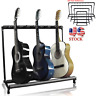 3 7 9 Guitar Folding Rack Electric Acoustic Bass Stand Holder Storage Organizer