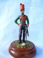 Soldat de plomb 90mm - Lieutenant du 8ème de hussards 1814