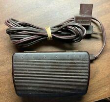 Oem Singer 618811-007 Sewing Machine Motor Controller Foot Pedal 4 Prong Plug Fs