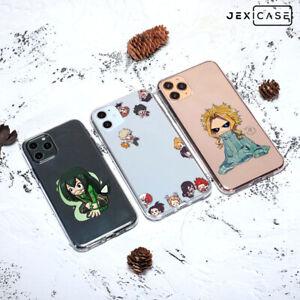 Hot Anime BNHA My Hero Academia TPU Phone Case For Iphone 11 Pro Xr/Xs 7/8 Plus