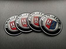 4x 67mm Alpina Sticker Stickers Decal Badge For Center Caps Hub Cap Wheel Rim