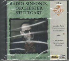 Radio Sinfonie Orchester Stuttgart Maurice Ravel Charles Ives CD NEU