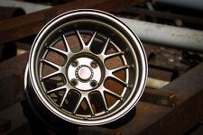 7 Twenty Style 44 Alloy Wheels 4X100 15X9J ET0 Polo Clio Corsa MX5 Corolla Lupo