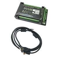 6 Axis CNC Breakout Board USB Motion Control Card,Supporting MACH3 Software