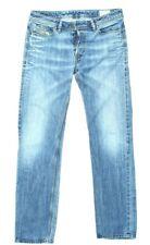 Diesel Denim Jeans Herren Gr. W34 L34 Hose Blau Blue Baumwolle Retro