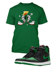 Marvin Tee Shirt to Match with Air Jordan 1 Retro High OG  Shoe Pine Pro Club