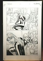 Darkminds Issue #6 Page 18 Original Art Work by Pat Lee Dreamwave Productions!
