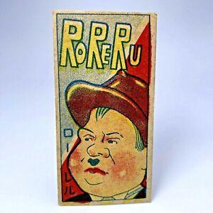 Vintage (Laurel and Hardy)Oliver Hardy menko card