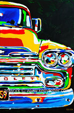 1959 Chevy Truck, 16 x 20 Limited Edition of 230 Giclee signed by artist, Telfer