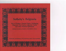 Sotheby's Belgravia - Posters, Signs, Post Cards, Cigarette Cards, Ephemera