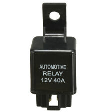 12V 40A 40 AMP Auto Car Automotive Van Boat Bike 4 Pin SPST Alarm Relay Durable