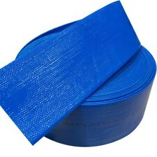 PVC Blue Layflat Hose 2 Inch (50mm) - 25 Metre Roll