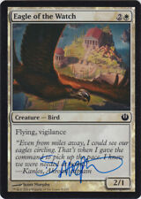 MTG Eagle of the Watch FOIL Journey Nyx Signed by Artist Scott Murphy w/ COA