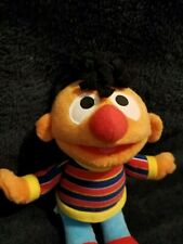 "Sesame Street 11"" Ernie Plush Collectible Stuffed Toy Fisher Price"