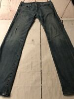 7 For All Mankind Men's Jeans Standard Distressed Straight Leg Size 32 X 33