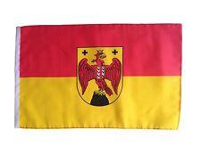 Fahne Flagge Burgenland 30x45 cm mit Schaft