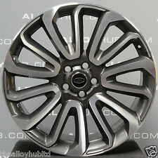 "GENUINE RANGE ROVER L405/L494 AUTOBIOGRAPHY 22""INCH STYLE 16 7007 ALLOY WHEEL X4"