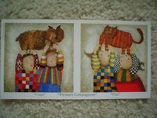 """GRACIELA RODO BOULANGER - Vintage Postcard """"Premiers Compagnons"""""""