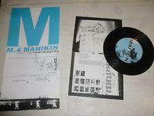 "MANIKIN - Disconnect - 2004 UK 3-track 7"" vinyl Single"