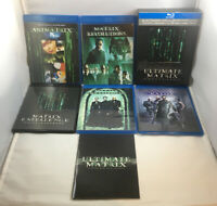 THE ULTIMATE MATRIX COLLECTION 7-Disc Blu-ray Box Set