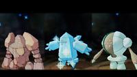 Shiny Regirock Regice OR Registeel Pokemon GO PTC Account DONT NEED TO GIVE DATA