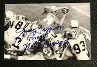 JERRY TAGGE NCAA Nebraska Cornhuskers Football Autographed Signed 4x6 Photo 2