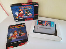 SNES : The Magical Quest Mickey Mouse Super Nintendo//  OVP & Anleitung