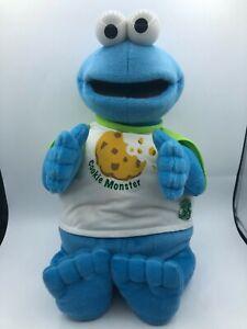 Fisher Price 35 Years Sesame Street Cookie Monster Plush Kids Stuffed Toy Animal