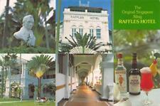 Singapore Raffles Hotel 1986 Postcard