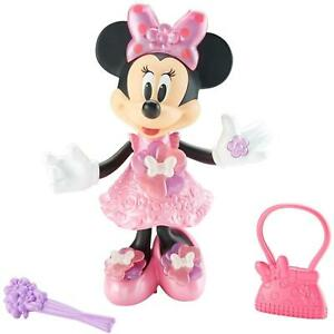 Disney Junior Bloomin' Bows Minnie Mouse Singing Figure Doll Fisher-Price DEALS