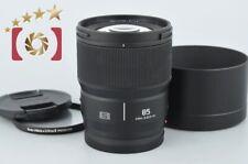 Mint!! Panasonic LUMIX S 85mm f/1.8 S-S85 Leica L Mount