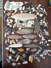 210 Native American Carved Arrowheads