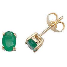 Orecchini di lusso bottoni sconosciuti verdi