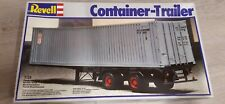 REVELL 1/25 Container trailer Truck model kit Bausatz maquette 7416