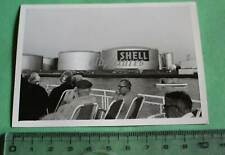 tolles altes Foto - riesige Benzintanks der Firma Shell - 60-70er Jahre ?