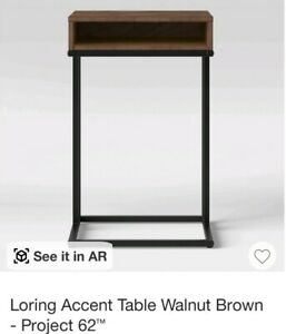 Loring Accent Table Walnut Brown - Project 62