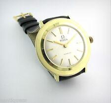 Vintage...TITUS....Peseux 320...17 Jewels...Gold Plated...Check it!!