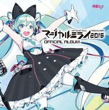 Hatsune Miku Magical Mirai 2016 OFFICIAL ALBUM CD+DVD JAPAN