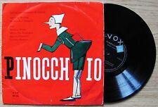 Collodi_PINOCCHIO Disco 33 giri_Ed. VOX anni '60_Testo Beretta musica Langosz*