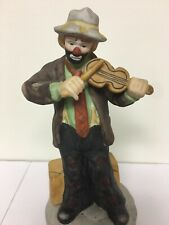 Emmett Kelly Jr. Collection Music Box From Flambro 2233 Of 12000