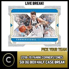 2018-19 caso de baloncesto 6 media PANINI CORNERSTONES romper #B360 - Elige Tu Equipo