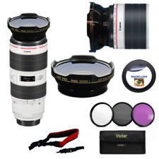 FISHEYE LENS + MACRO + FILTER KIT FOR Canon EF 70-200mm f/2.8L IS III USM Lens