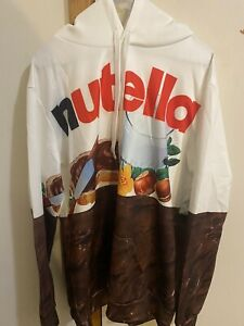 Nutella Jumper/hoodie XL men's Hooded Jumper NEW WITHOUT TAGS