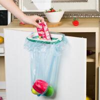 Tragbare Tür Müll Mülleimer Box kann Rack Kunststoff hängende Halter Küche L2L6